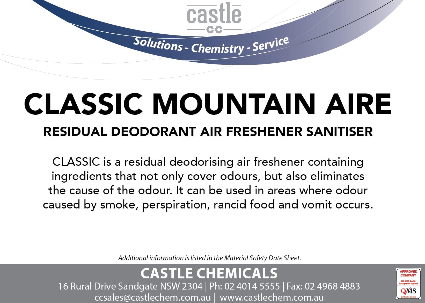 Distributors ‹ Castle Chemicals