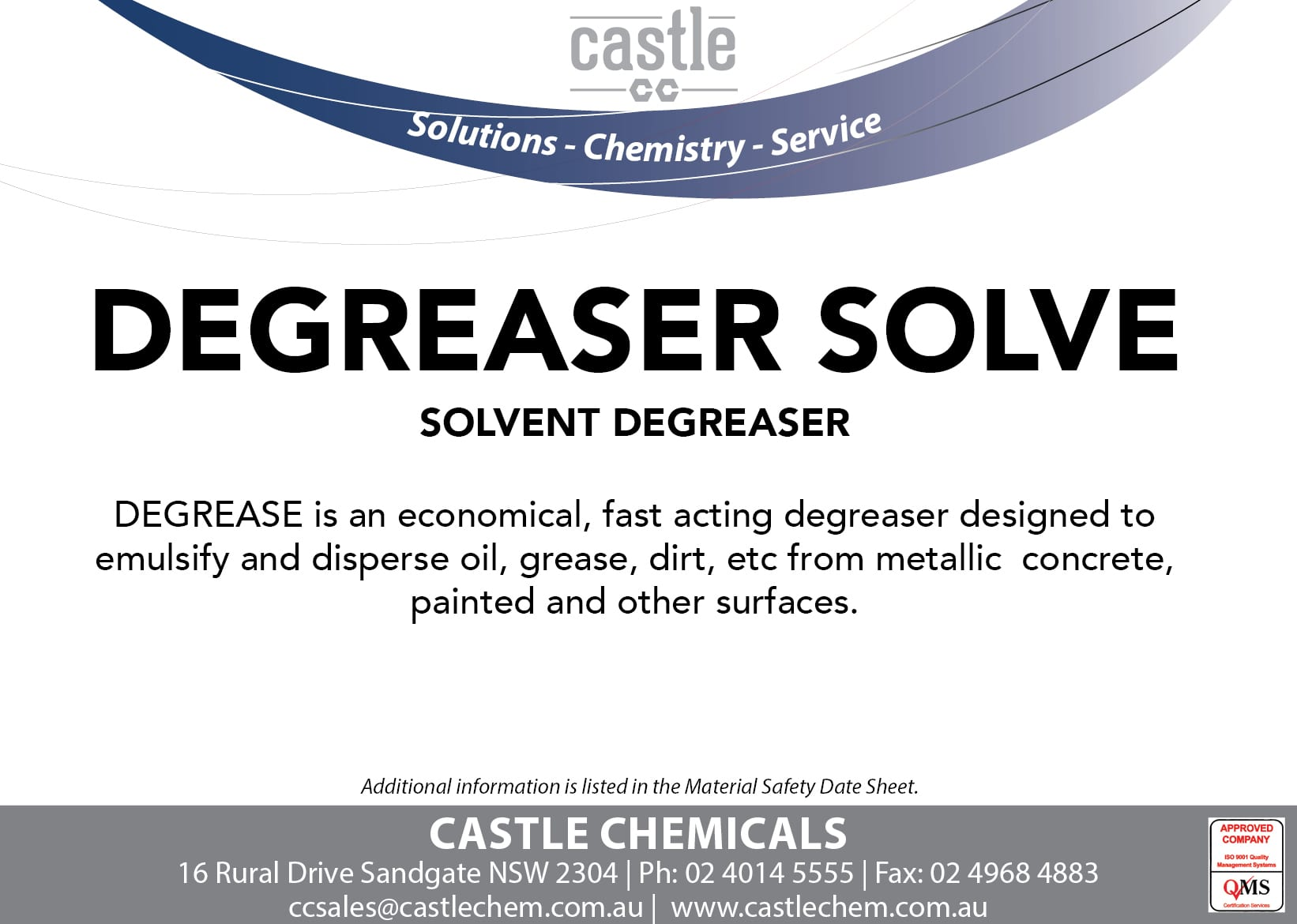 Distributors ‹ Castle Chemicals